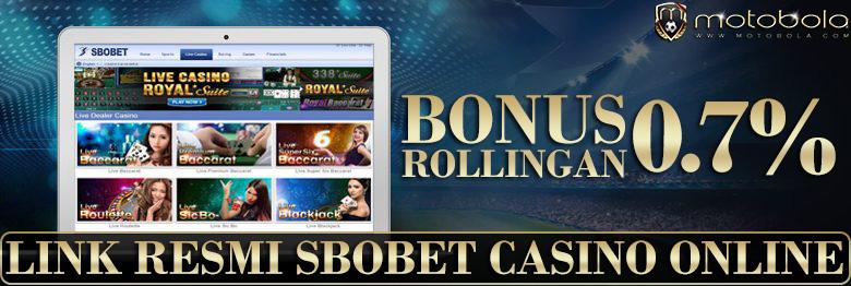 Keuntungan Tips Link Resmi Sbobet Casino Online